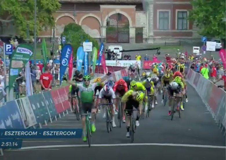 Tour de Hongrie - Jon Aberasturi gagne la première étape au sprint