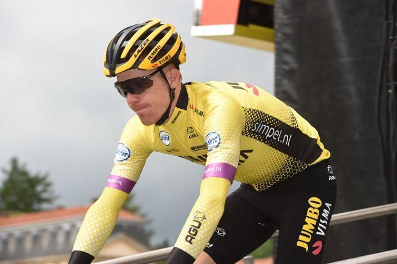 Tour de France - Steven Kruijswijk encourage ses coéquipiers