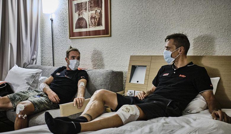 Tour de France - Blessé au genou, Philippe Gilbert a quitté le Tour !