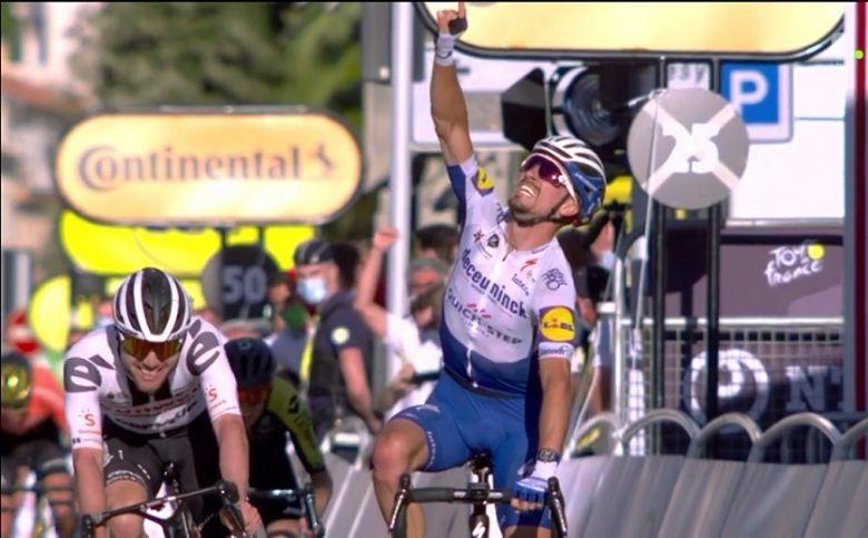 Tour de France - Julian Alaphilippe s'offre l'étape et le jaune à Nice