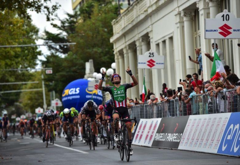 Tour d'Italie U23 - Luca Colnaghi s'impose devant Meeus et Milan