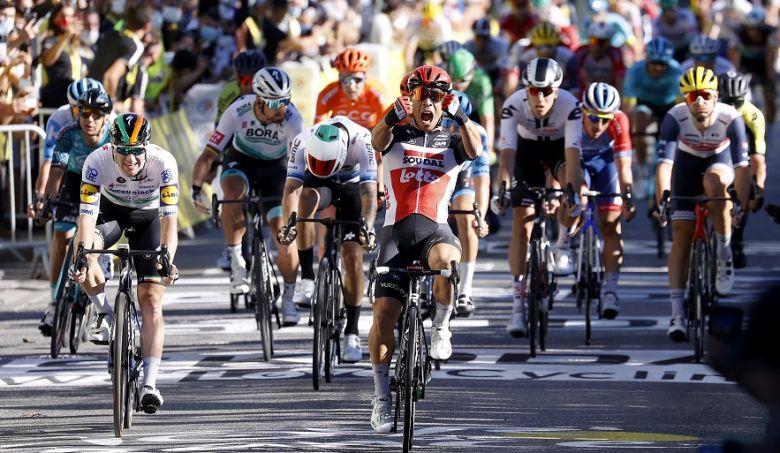 Tour de France - Caleb Ewan s'impose devant Sam Bennett, Hofstetter 4e