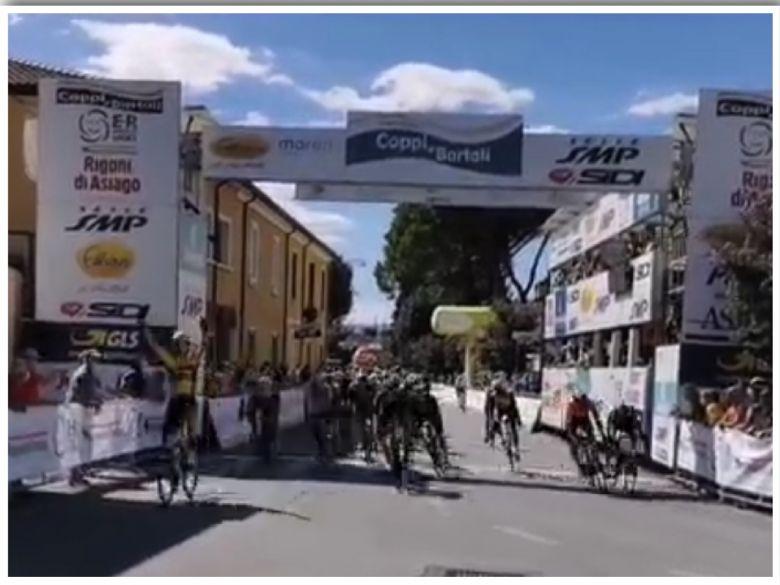 Semaine Coppi & Bartali - Olav Kooij s'impose au sprint devant Hayter
