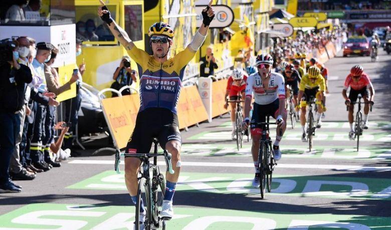 Tour de France - Primoz Roglic s'impose, Alaphilippe reste en jaune