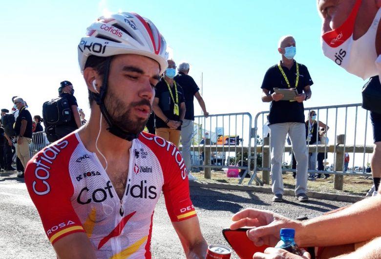 Tour de France - Jesus Herrada : «Alexey Lutsenko était le plus fort»