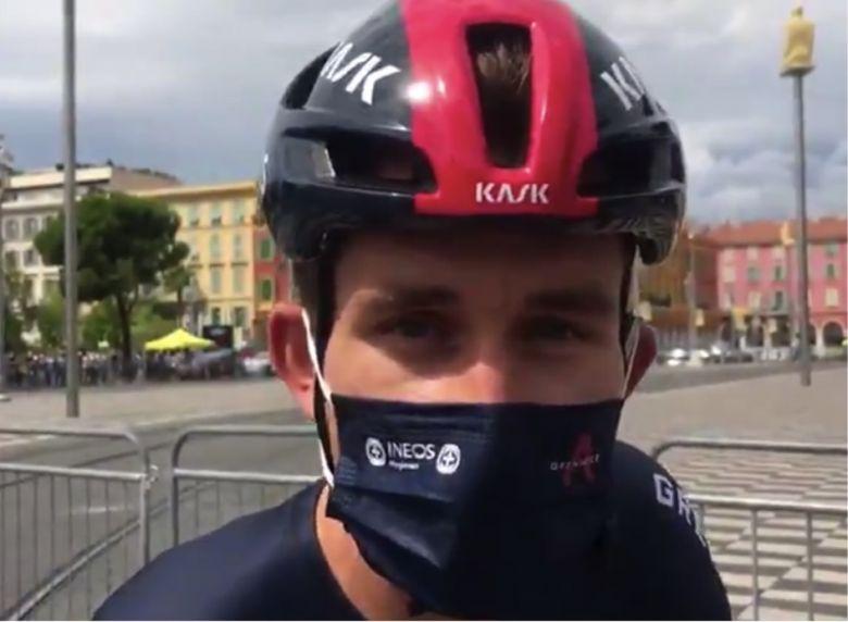 Tour de France - Michal Kwiatkowski : «J'avais misé sur l'échappée»