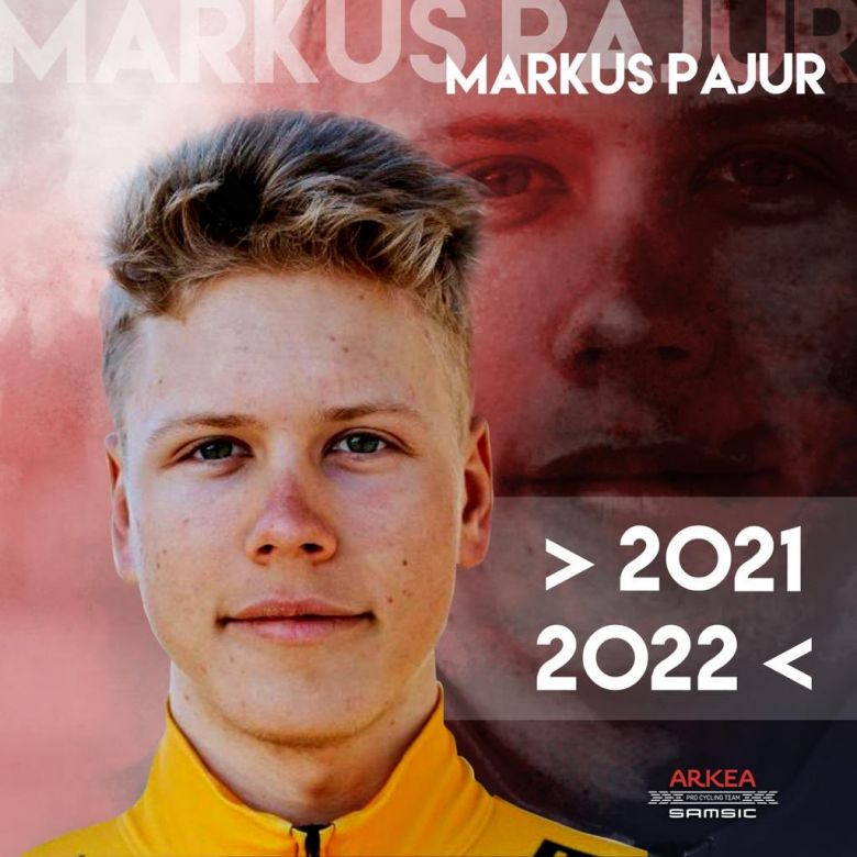 Transfert - L'Estonien Markus Pajur néo-pro chez Arkéa-Samsic en 2021