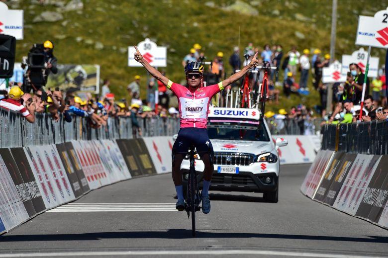 Tour d'Italie U23 - Tom Pidcock s'impose au sommet de Montespluga