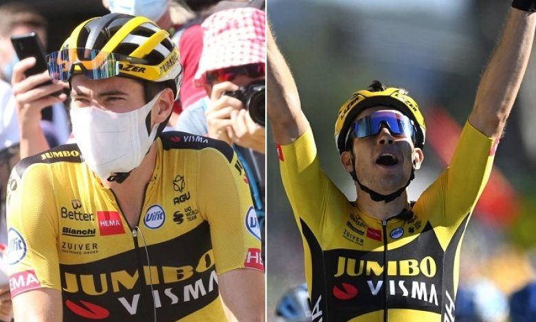Tour de France - Tom Dumoulin : «Van Aert ? Je n'ai pas de mots...»