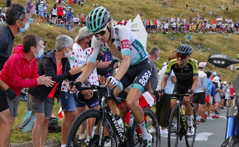 Tour de France - Buchmann: «Je n'avais pas les jambes pour suivre»