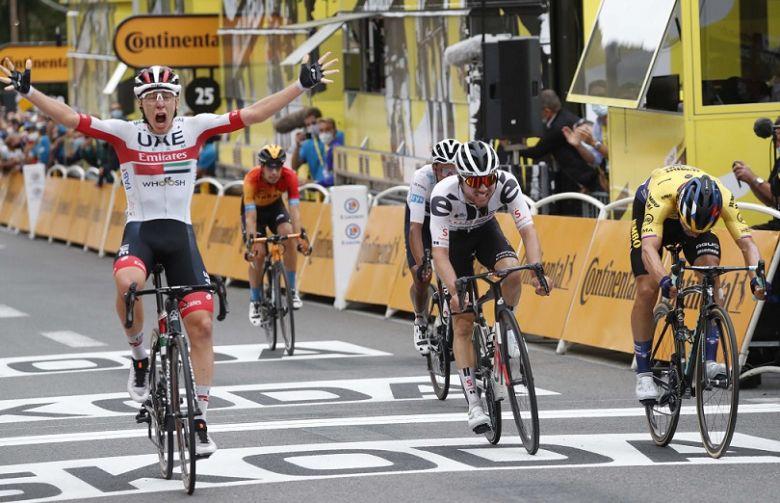 Tour de France - Le règne slovène : Pogacar l'étape, Roglic en jaune !