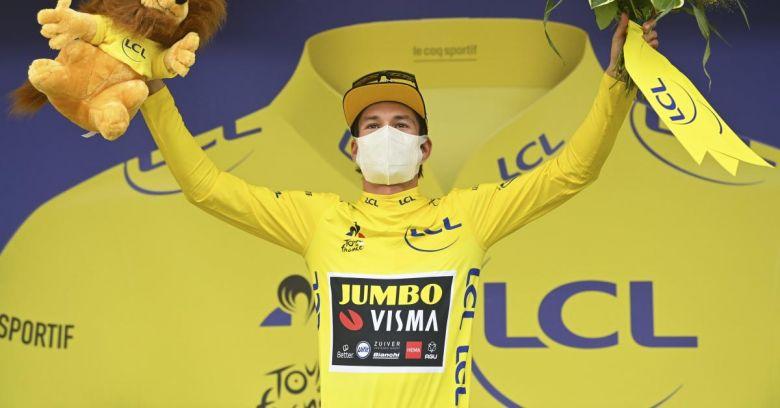 Tour de France - Roglic : «Ce qui m'intéresse c'est le gagner à Paris»
