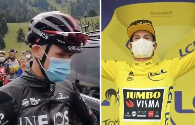 Tour de France - Chris Froome : «On a toujours vu Roglic faiblir...»
