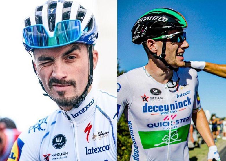 Tour de France - Alaphilippe : «Sam Bennett a beaucoup de talent»