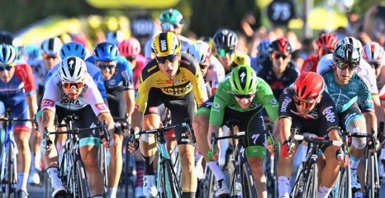 Tour de France - Victoire de Caleb Ewan devant Bennett, Sagan déclassé