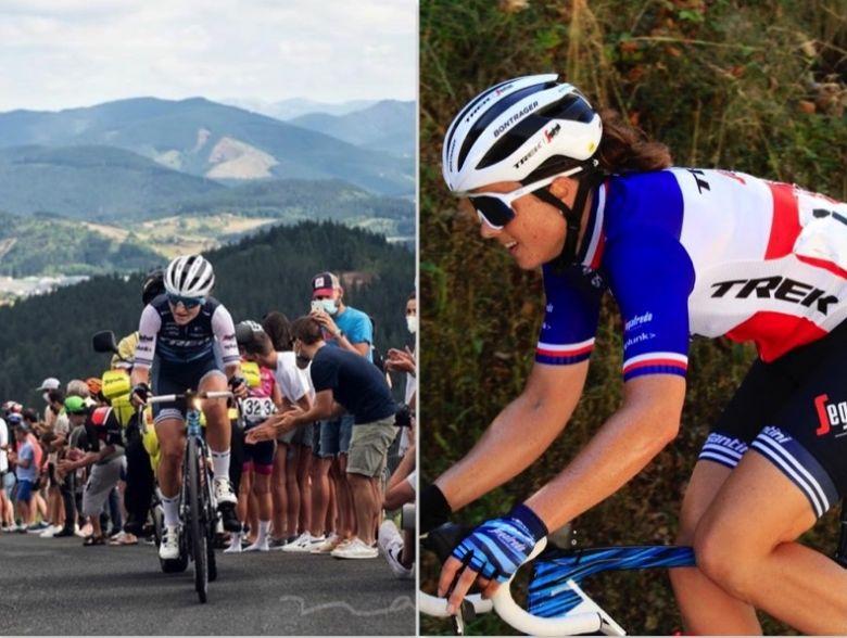 Giro Rosa - Trek-Segafredo avec Audrey Cordon-Ragot et Longo Borghini