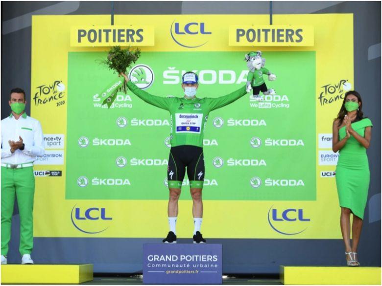 Tour de France - Sam Bennett, 2e : «J'ai lancé mon sprint un peu tard»