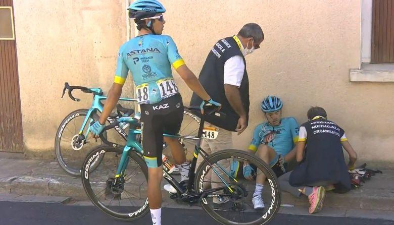 Tour de France - Fractures et points de suture pour Ion Izagirre