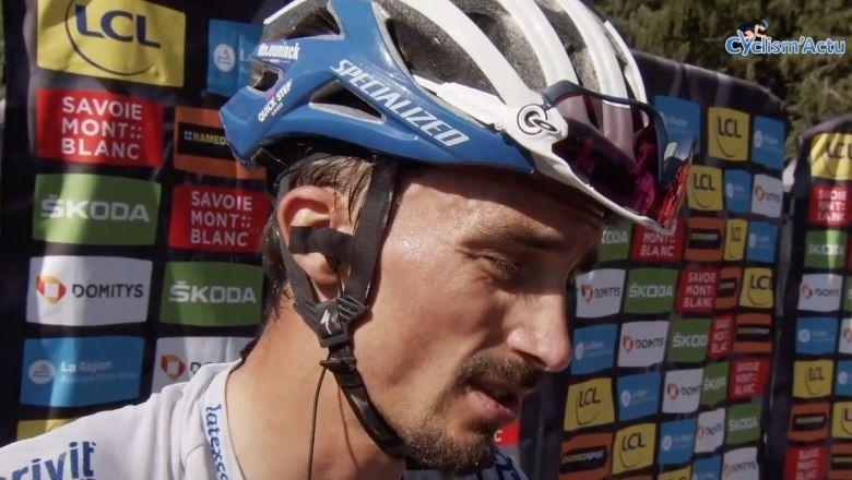 Tour de France - Alaphilippe : «Marc Hirschi méritait de gagner»