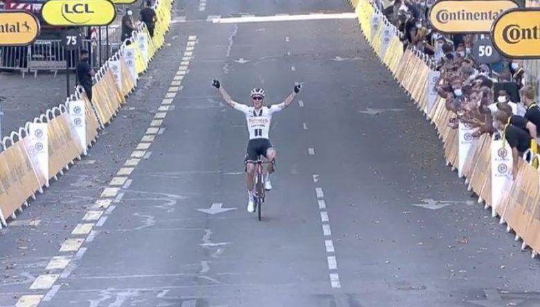 Tour de France - Soren Kragh Andersen gagne en finisseur à Lyon