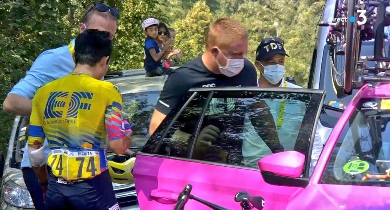 Tour de France - Victime d'une chute, Sergio Higuita abandonne