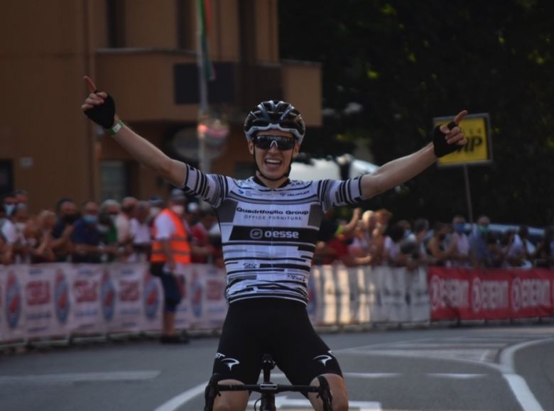 Italie - Route - Giovanni Aleotti décroche le titre chez les Espoirs