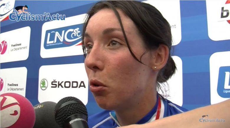 Route - Aude Biannic prolonge son contrat avec l'équipe Movistar