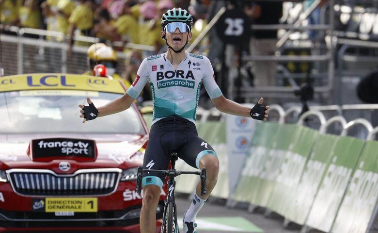 Tour de France - Lennard Kämna en solitaire, les leaders temporisent
