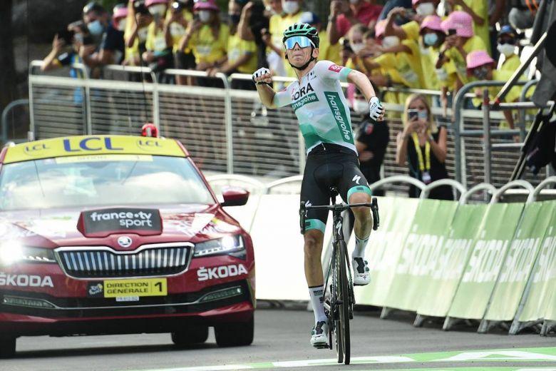 Tour de France - Lennard Kämna : «C'est un gros soulagement»