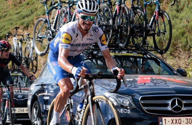 Tour de France - Julian Alaphilippe : «Ils sont partis à la pédale»
