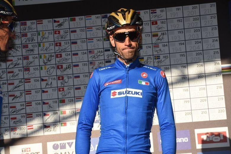 Mondiaux - Vincenzo Nibali : «Le parcours est difficile et sélectif»