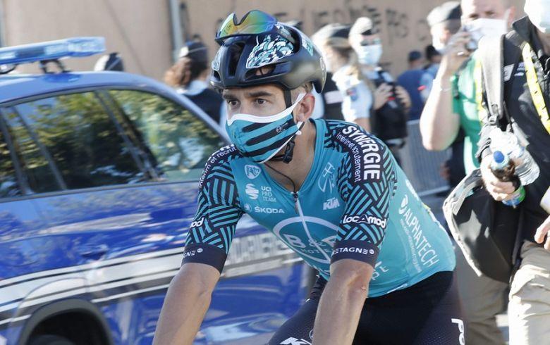 Tour de France - Bryan Coquard : «Aller jusqu'à Paris pour Jens»