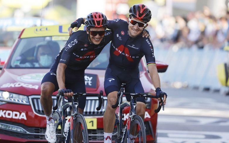 Tour de France - Kwiatkowski et Carapaz sauvent le Tour d'INEOS !