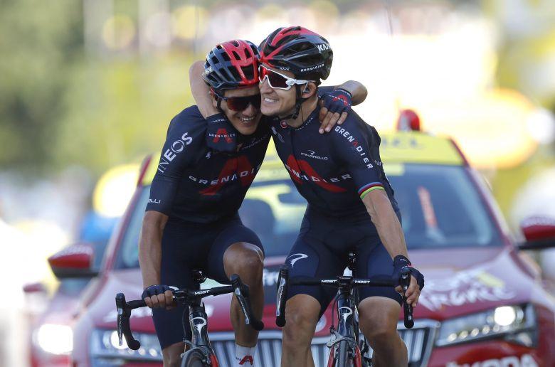 Tour de France - Kwiatkowski : «J'espère que Bernal nous a regardés»