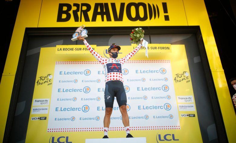 Tour de France - Carapaz : «On a décidé ensemble avec Kwiatkowski»