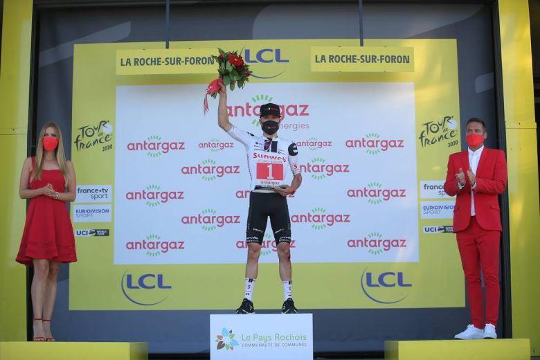 Tour de France - Hirschi : «C'est mon tempérament, j'aime attaquer»
