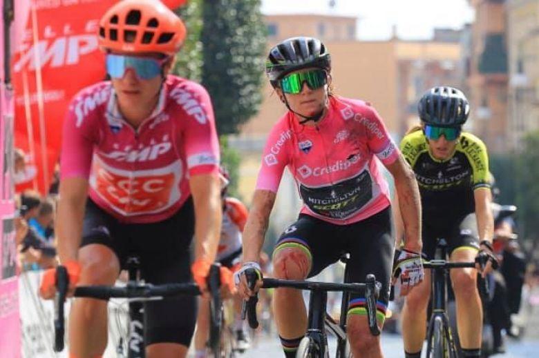 Giro Rosa - Annemiek van Vleuten souffre d'une fracture du poignet