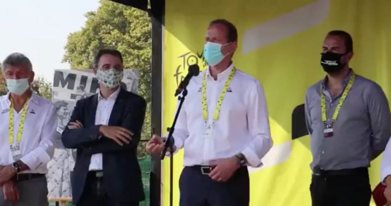 Tour de France - Quand Christian Prudhomme sermonne les maires écolos