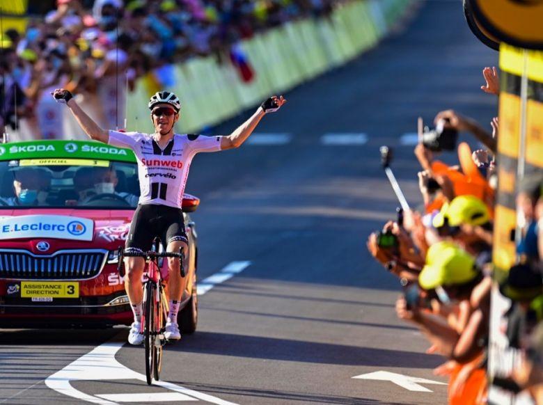 Tour de France - Kragh Andersen : «Deux victoires, c'est incroyable»