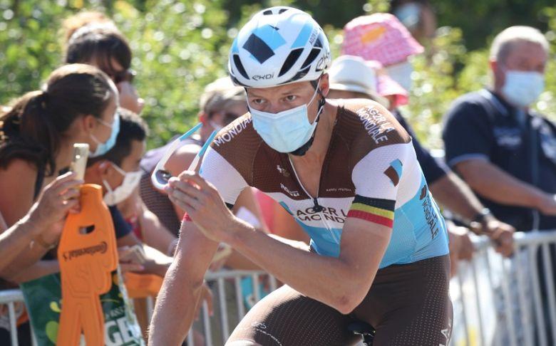 Tour de France - Oliver Naesen, 5e : «C'est très, très frustrant»