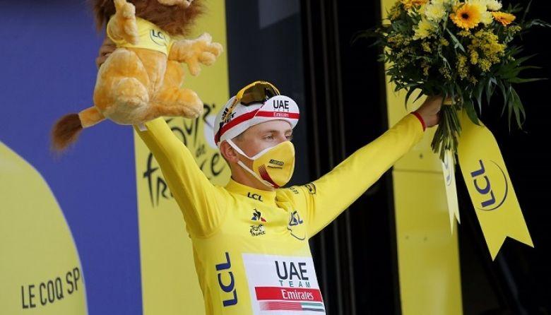 Tour de France - Tadej Pogacar : «J'ai attaqué comme un fou...»
