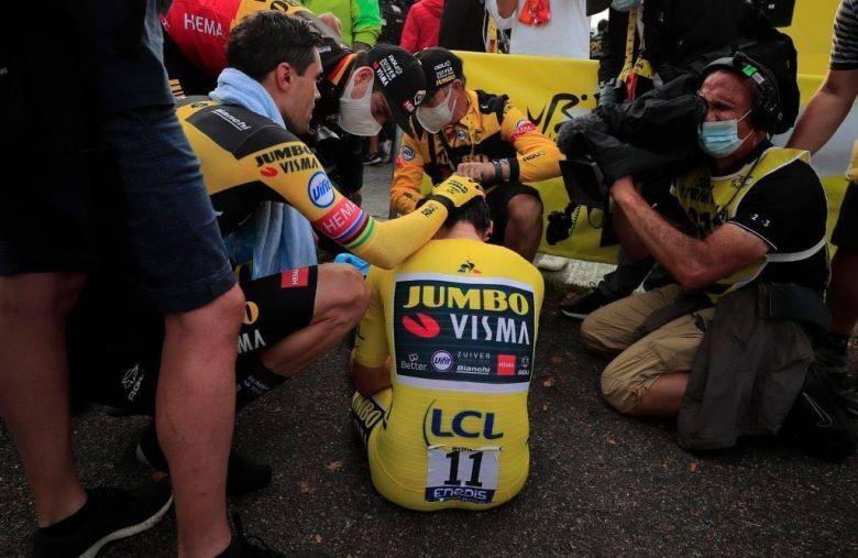 Tour de France - Wout Van Aert : «C'était un autre Roglic sur le vélo»