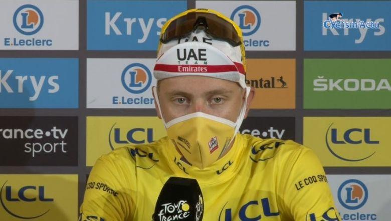 Tour de France - Pogacar : «Roglic était le meilleur de ce Tour... »