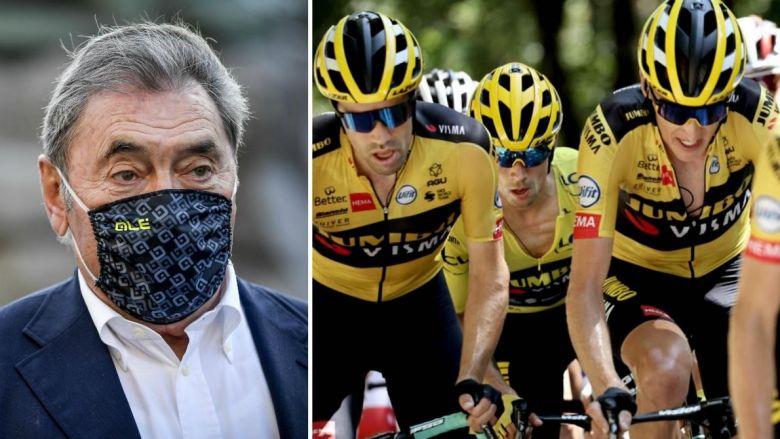 Tour de France - Eddy Merckx : «La Jumbo-Visma, elle a couru bêtement»