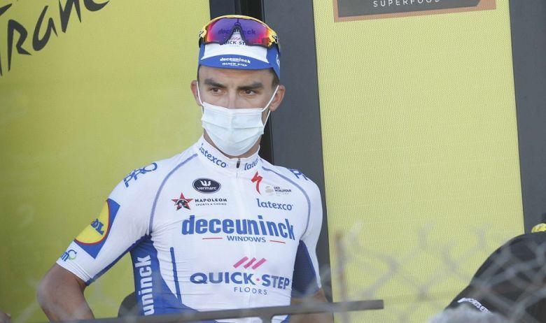 Tour de France - Julian Alaphilippe a «déjà la tête aux Mondiaux»