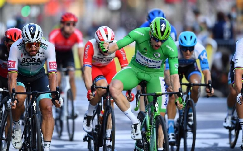 Tour de France - Sam Bennett conclut, Tadej Pogacar remporte le Tour