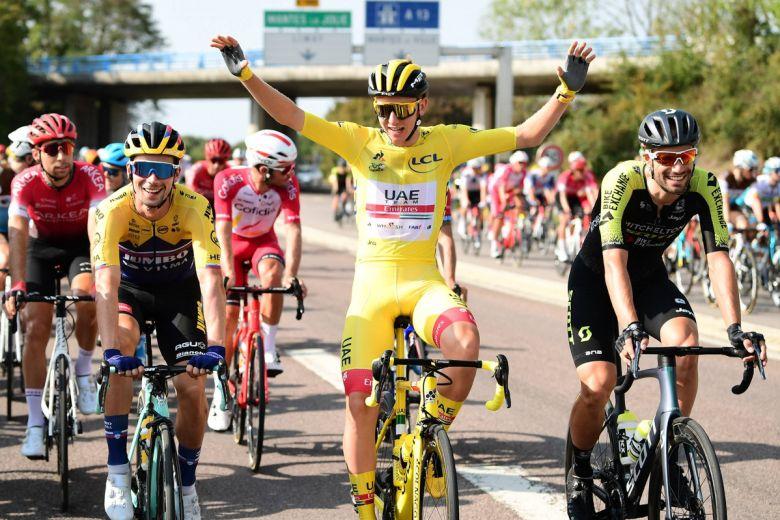 Tour de France - Tadej Pogacar «le top du top» : «Ce sport est dingue»
