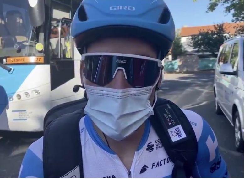 Tour de France - Hugo Hofstetter, 8e : «Je suis régulier au sprint»