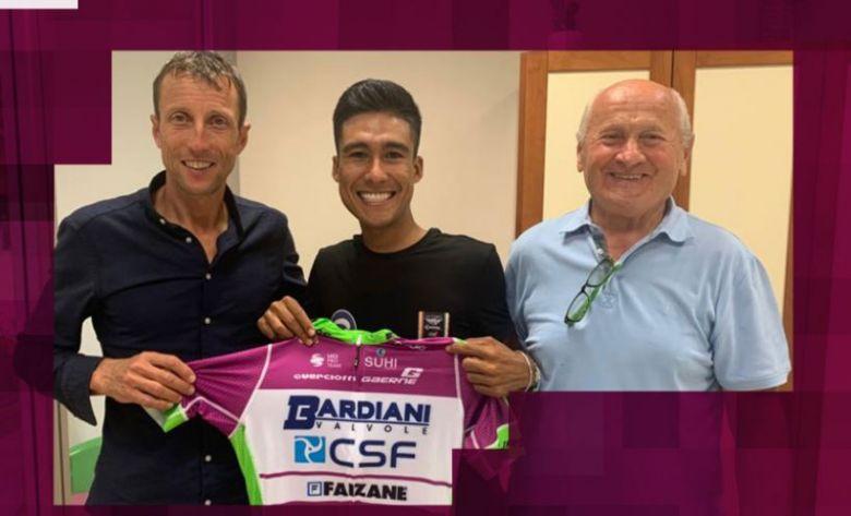 Transfert - Johnatan Canaveral signe chez Bardiani-CSF-Faizanè