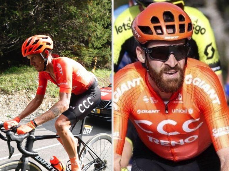 Flèche Wallonne - CCC Team autour de De Marchi et Simon Geschke